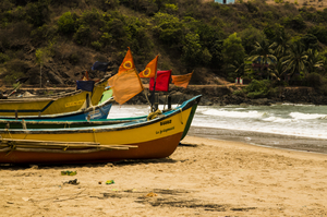 A thursday beach hike in Gokarna