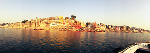 Waking up to the Ganges in Varanasi