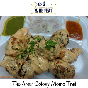 Time to get Momo-fied in Amar Colony, New Delhi