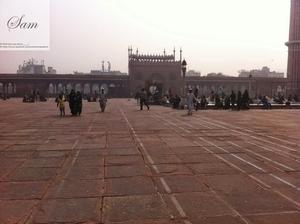 Delhi 6 Trip to jama-masjid
