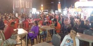 The Desi Food Court of Baroda: Ratri Bazaar