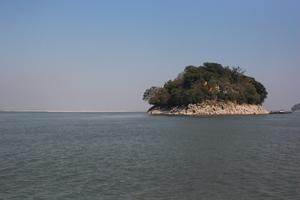 Umananda Temple: Peacock Island