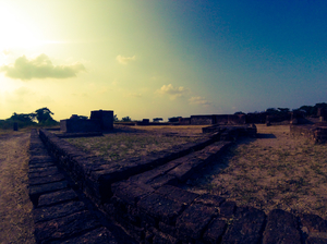 2 > 4, traveling alone through Western India: Day 3, Lothal: the first city with a dockyard in India