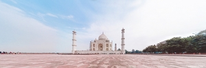 A day excrusion from New Delhi to Taj mahal
