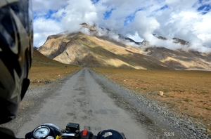 Great Himalayan Solo bike ride for 45 days :)