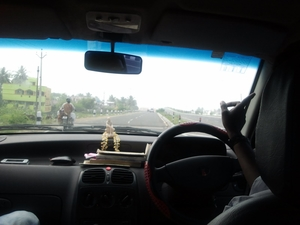 Biking trip to mini France in India