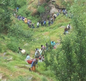 Trekking :Durga mata yatra  in Dev bhoomi Himachal - Life time experience