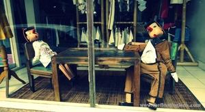 A walk through shopper's paradise of Bali