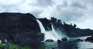 Niagara of India - Athirapilly falls!
