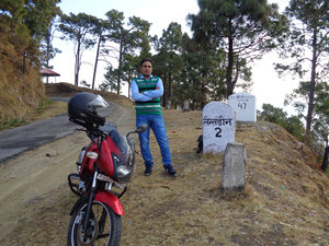 Delhi to Lansdowne on Pulsar Bike