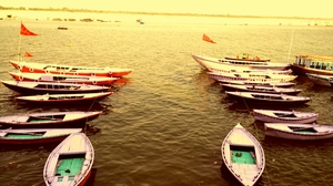 In the midst of Craziness in Varanasi.. Kashi!