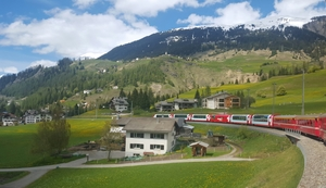 Switzerland's Train Journeys and Mountain Rides