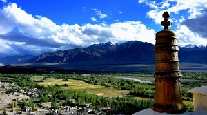 New year at Land between earth and sky : Ladakh
