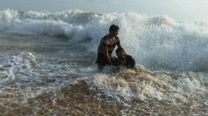 Gokarna Beach Trek - Relaxing in Paradise, Chanting OM, and looking at HalfMoon