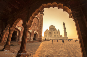 Some facts about Taj Mahal, World's Seventh Wonder. What Else?
