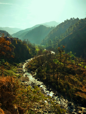 A TREK to 180 degree VIEW of greater HIMALAYAS!