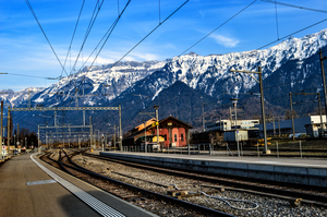 Exploring Switzerland by train!