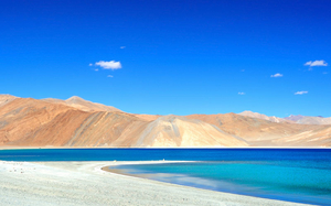 Mesmerizing Blue Lake (Pangong)!!