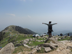 Trek to triund exploring the unexplored