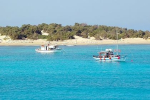Beautiful and balmy Chryssi Island, Crete