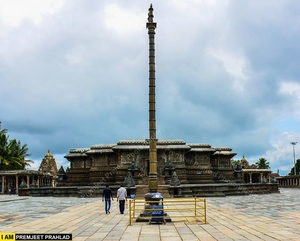 Belur Temple/ Chennakeshava Temple (Handsome Vishnu)