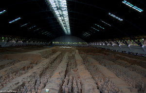 The city of terracotta warriors