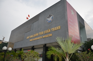 The War Remnants Museum - HO CHI MINH CITY