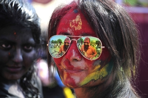 Around The World Holi Celebrations