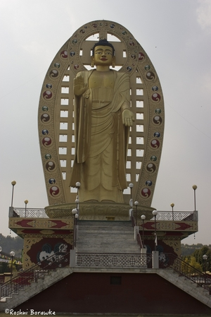 Rolling Stone Monastery in Dehradun