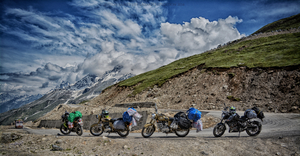 An unplanned journey to Leh Ladakh on bikes.