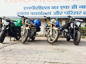 An unplanned journey to Leh Ladakh on bikes.