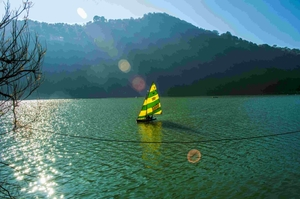 Nainital : Legs in Lake, Soul Awake