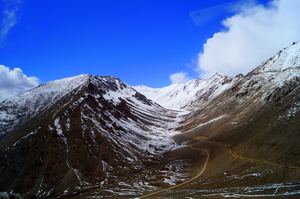 Leh - When you go to the mountains, you see them and you admire them.
