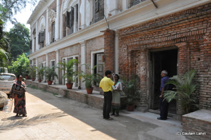 Rajbari Bawali near river Ganges, takes you back by 300 years