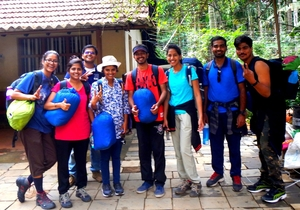 Trekking the Mighty Kumara Parvatha