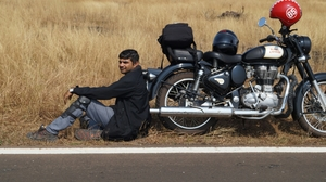 Biking Expedition From Saurashtra(Rajkot) to Konkan(Goa) - India via Coastal Highway, 2700kms,8days