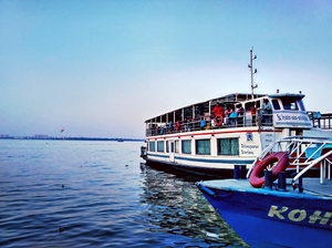 When I Missed a Sunset. (A visit to Hussain Sagar)