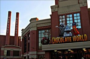 Sugary Trip To Hershey's Chocolate World, Philadelphia