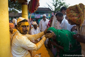 HALDI FESTIVAL OF THE SHEPHERD COMMUNITY , PATTAN KODOLI, MAHARASTRA