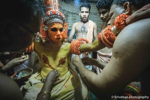 Kandanar Kelan Theyyam | Pattuvam Taluk, Kannur District | Kerala, India