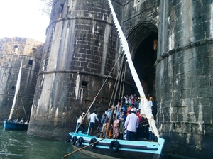 Murud Janjira Fort - Solo Trip