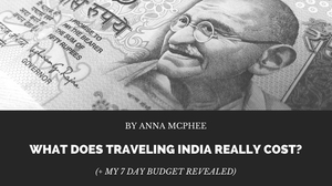 What does travelling India really cost?
