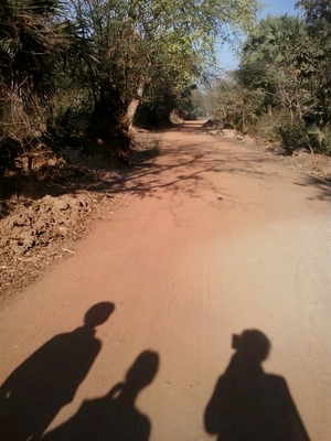 Away from city,in lap of nature @ Shantiniketan