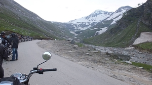 Biking through the himalayas: Manali-leh-srinagar