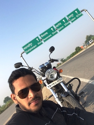 Solo Ride to Udaipur, Rajasthan