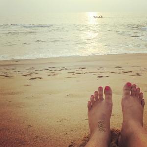 Twilight : Someshwar Beach#TripotoTakeMeToSandakphu