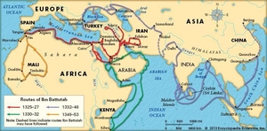 Ibn-e-Battuta – the Man Behind Travel Writing
