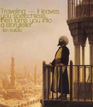 Ibn-e-Battuta – the Man Behind Travel Writing