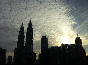 In the shadow of the Petronas