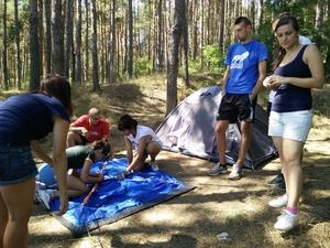 Camping at Iskar Lake